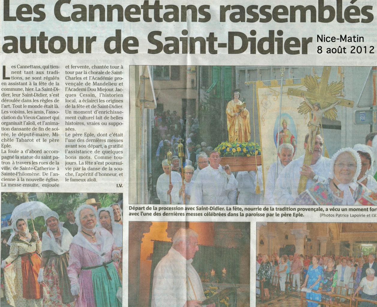 Le Cannet aout 2012